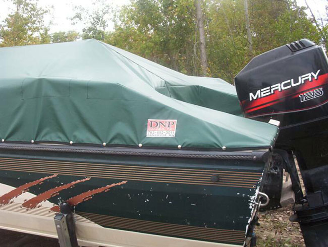 Custom Boat Covers by DNP Custom Canvas